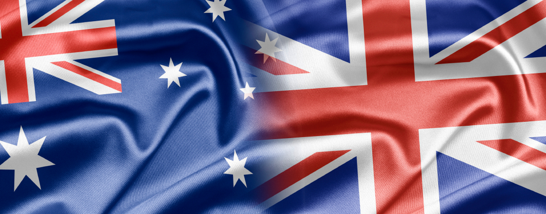 Australia and the nations of the world. A series of images with Australian flag. How to search for double flags? At my portfolio simply type the name of the two countries.