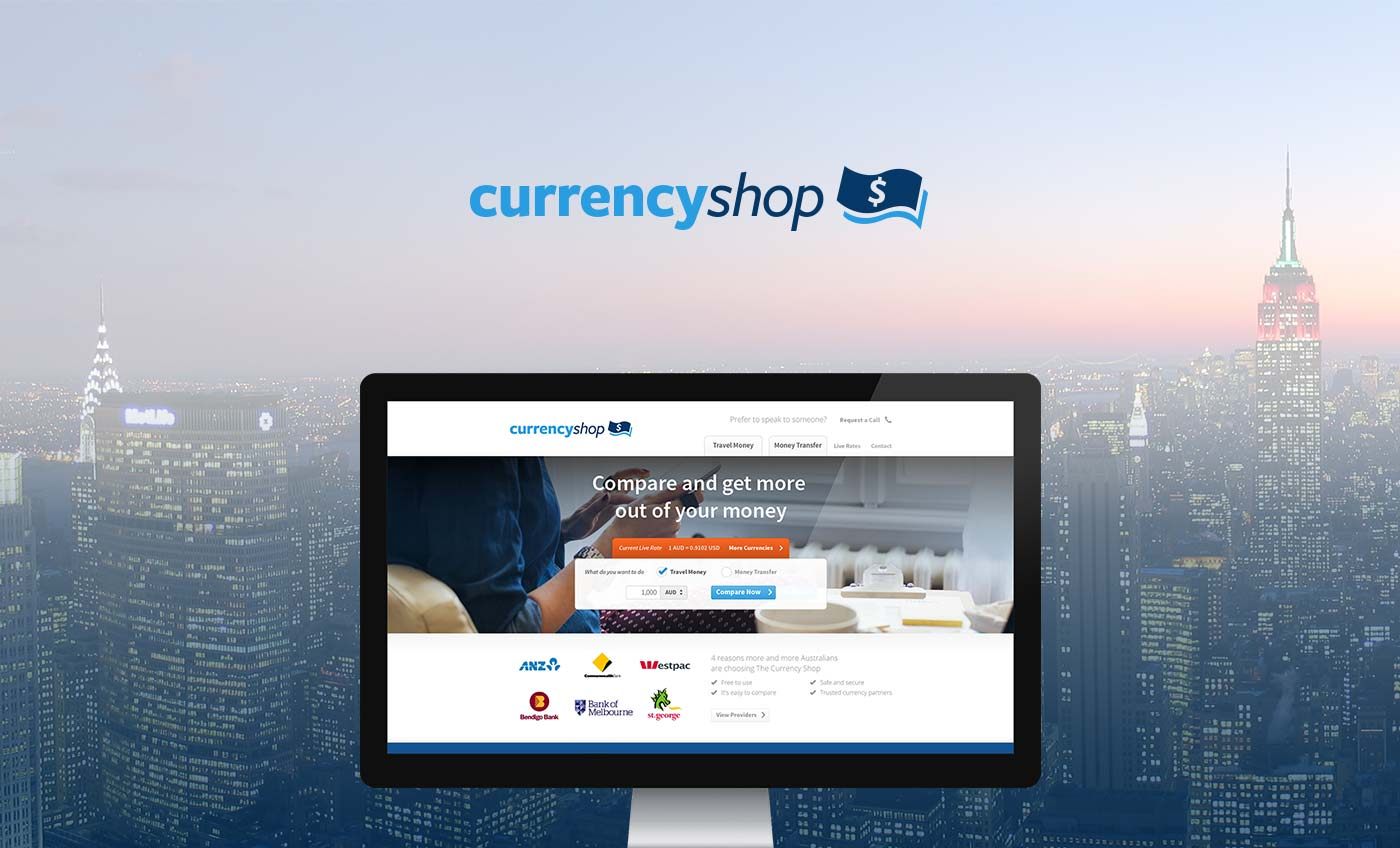 The Currency Shop Desktop