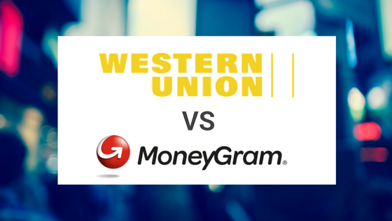 Comparing Western Union with Moneygram
