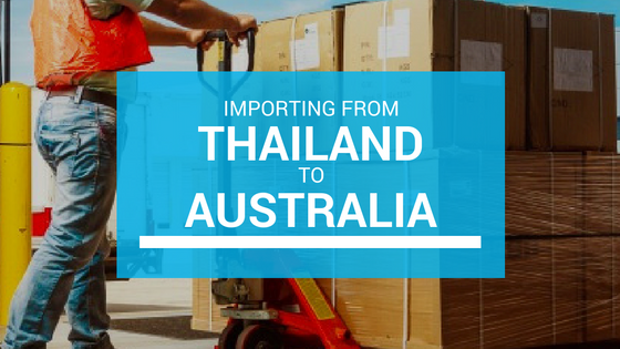 Ship Importing Goods from Thailand