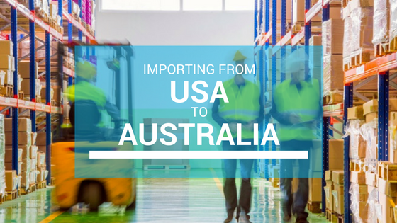 Ship Importing Goods from USA