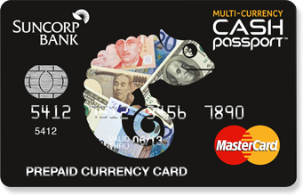 Suncorp cash passport review the currency shop suncorp travel card reheart Gallery
