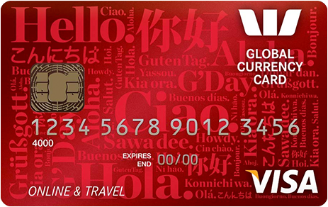 Westpac Global Currency Card Review - The Currency Shop