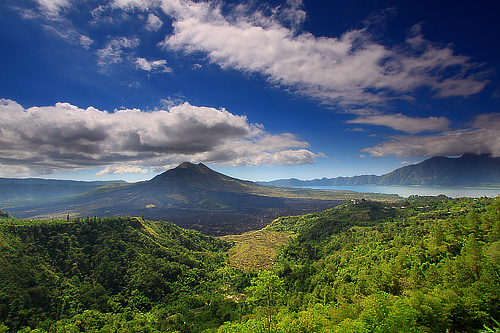 Kintamani Volcano and Batur Lake