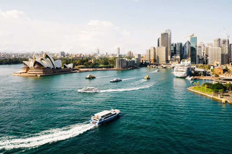 Sydney image for receiving money from overseas
