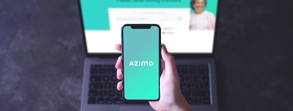 Azimo Review mobile and computer